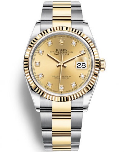 DATEJUST 36 (Yellow Rolesor)