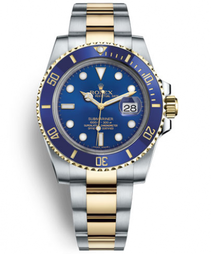 Submariner Date (Yellow Rolesor)