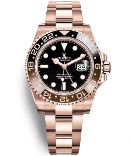 GMT-Master II (Everose gold)