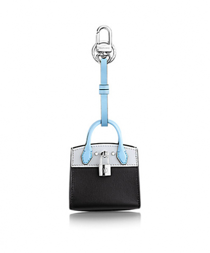 CITY STEAMER BAG CHARM & KEY HOLDER