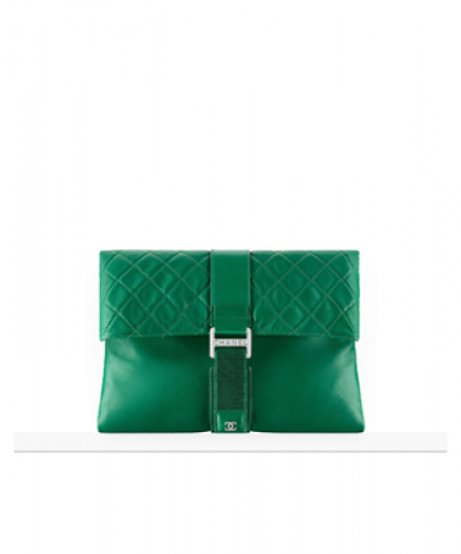 Clutch : DARK GREEN